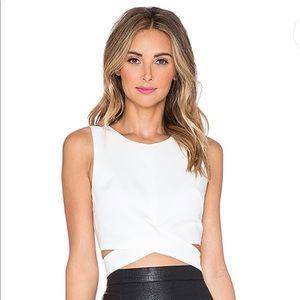 NWT Lovers + Friends Revolve So Into You Crop Top